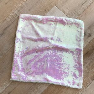 Other - Iridescent sequin pillow case